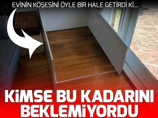 EVİNİN ALTINA ÖYLE BİR ŞEY YAPTI Kİ...