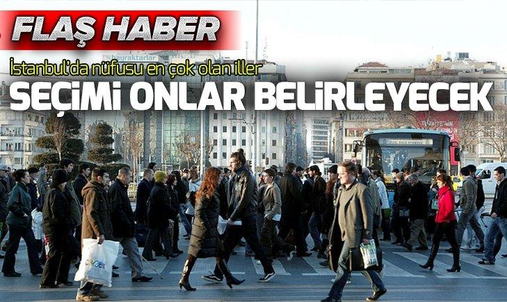 İSTANBUL'DA HANGİ İLÇEDE KAÇ GİRESUNLU VAR? İŞTE AYRINTILARI...
