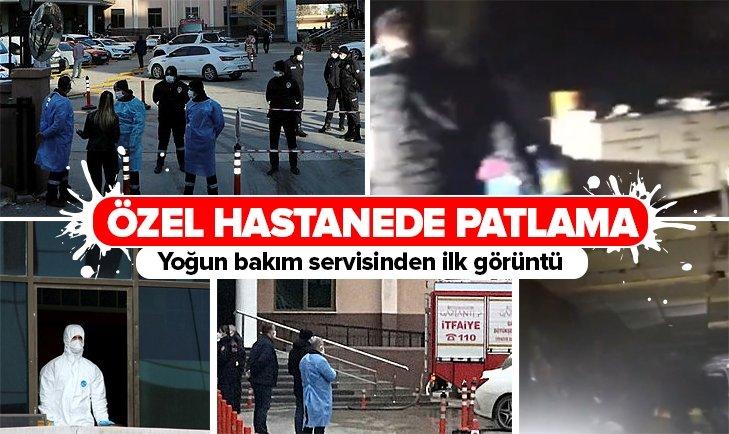 Gaziantep'te özel bir hastanede patlama! Ölü ve yaralılar var...