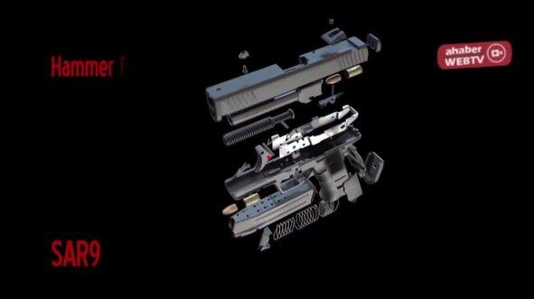 Yerli tabanca üretiminde çok önemli hedef