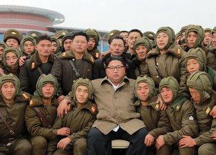 Kim Jong Un corona virüse meydan okudu!