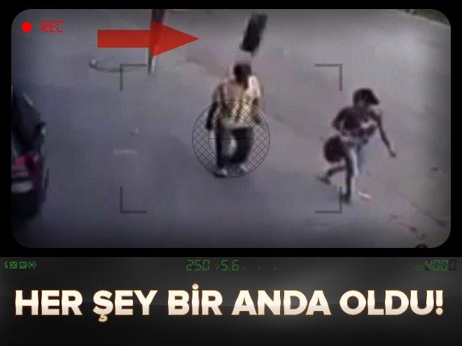 HER ŞEY BİR ANDA OLDU!
