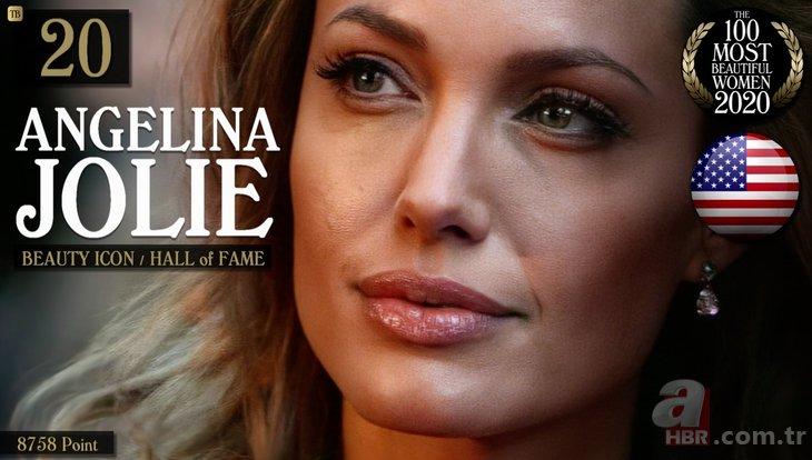Dünyanın en güzel 100 kadını listesi açıklandı! İşte 1 numarada yer alan Türk güzel...