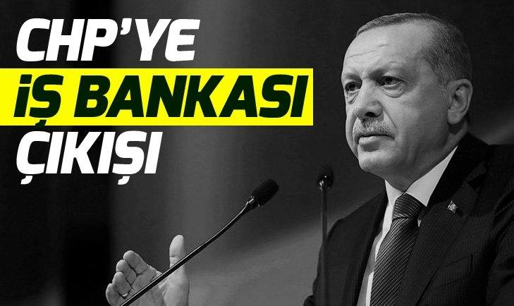 Başkan Erdoğan'dan CHP'ye İş Bankası'nda hisse eleştirisi