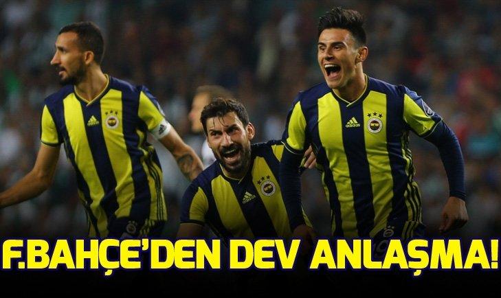 Fenerbahçe'den dev anlaşma!