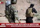ABD YPGye verdiği eğitimin videosunu yayınladı |Video