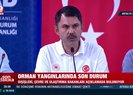 Bakan Murat Kurum'dan orman yangınları ile ilgili açıklamalar