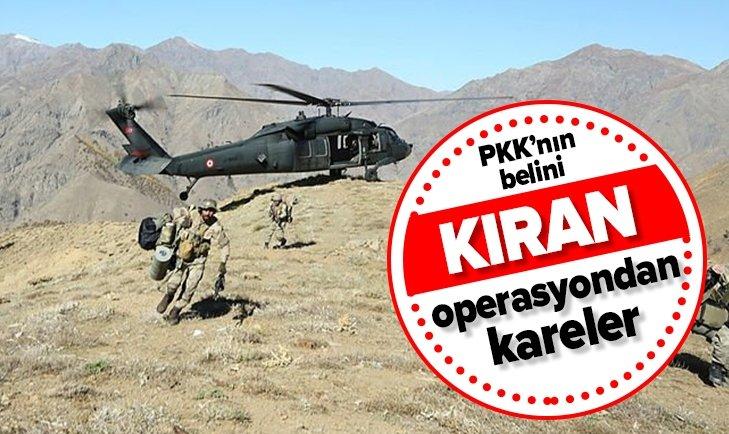 DİYARBAKIR'DA PKK'YA 'KIRAN-5' DARBESİ!