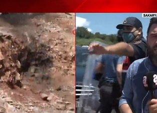 Sakarya'da havai fişek taşıyan araçta patlama! A Haber olay yerinde