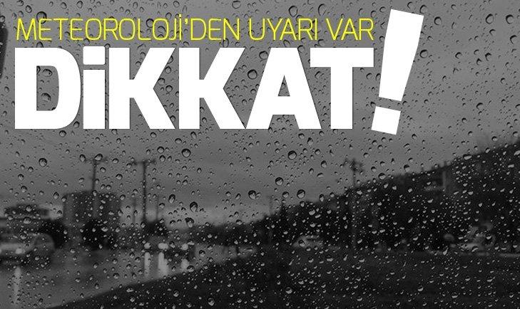 İstanbullular dikkat! Öğleden sonra sağanak geliyor