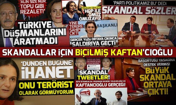 CHP'li Canan Kaftancıoğlu'nun sabıka dosyası