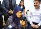 Başkan Erdoğan depremzede aileyle görüştü