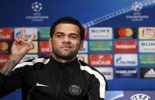 Dani Alves'ten Beşiktaş paylaşımı