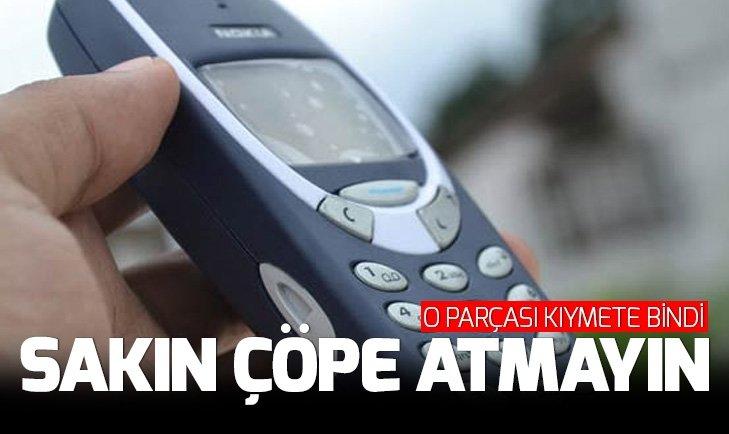 ESKİ TELEFONUN İÇİNDEKİ PARÇA KIYMETE BİNDİ!