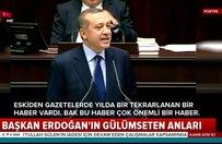 Başkan Erdoğan'ın gülümseten anları