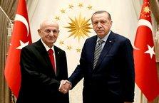 Erdoğan, İsmail Kahraman'ı kabul etti