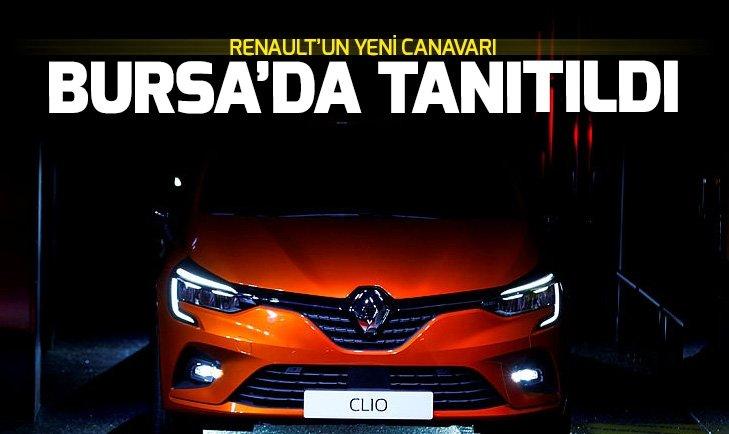 BURSA'DA TANITILDI! İŞTE YENİ RENAULT CLİO 5
