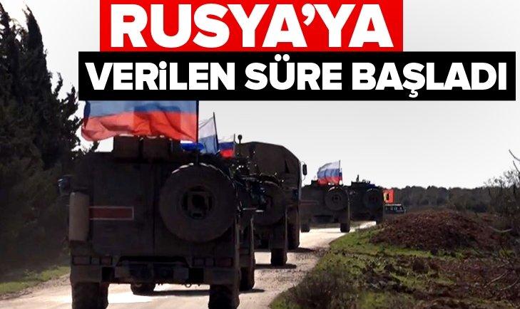 RUSYA'YA VERİLEN SÜRE BAŞLADI