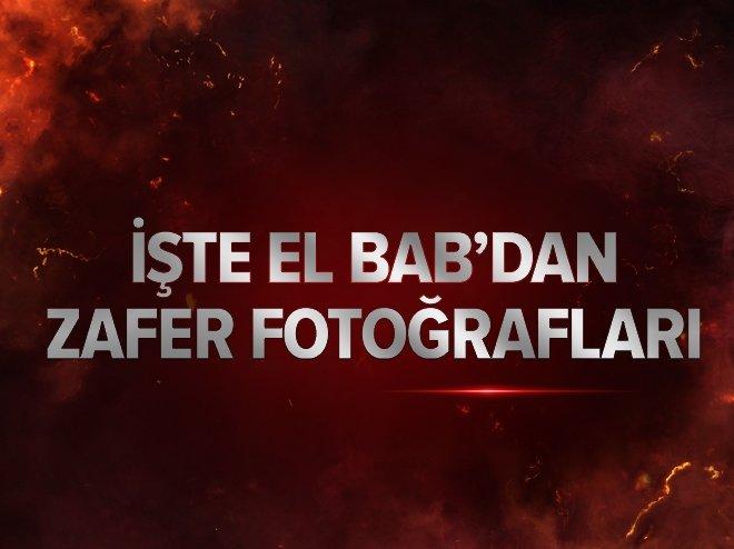 İŞTE DEAŞ'TAN TEMİZLENEN EL BAB'DAN FOTOĞRAFLAR