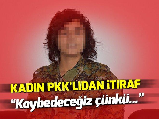 TESLİM OLAN KADIN TERÖRİSTLER PKK'DAKİ PANİĞİ ANLATTI