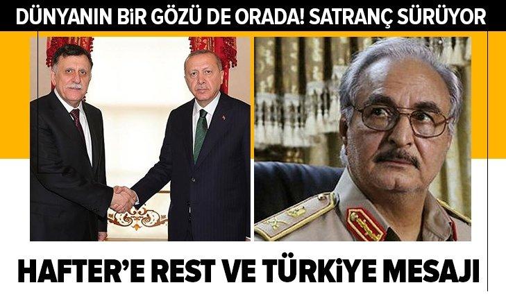 Son dakika: Libya Başbakanı Serractan darbeci Haftere rest ve Türkiye mesajı