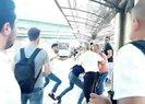 Metrobüs durağında uyardığı yolcunun saldırısına uğradı |Video