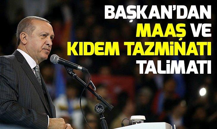 Başkan Erdoğan talimatı verdi! Sanatçılar için önemli adım
