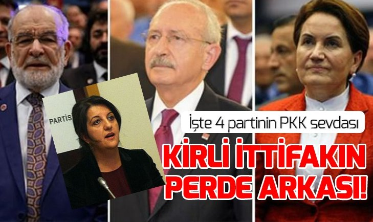 Zillet ittifakının PKK sevdası
