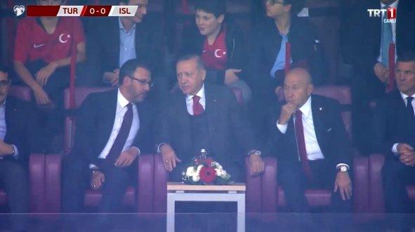 Erdoğan'dan A Milli Takım'a destek