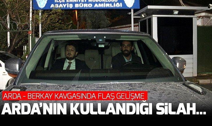 ARDA TURAN - BERKAY KAVGASINDA FLAŞ GELİŞME! ARDA'NIN KULLANDIĞI SİLAH...