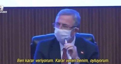 Ankara Büyükşehir Belediye Başkanı Mansur Yavaş'tan skandal! Kentsel dönüşümü engelledi