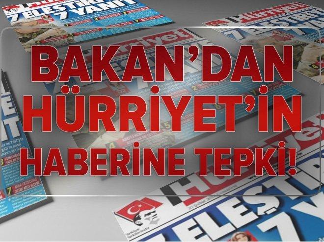 FİKRİ IŞIK'TAN HÜRRİYET'İN HABERİNE TEPKİ
