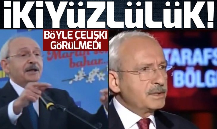 KILIÇDAROĞLU TV'DE FARKLI VATANDAŞ KARŞISINDA FARKLI!