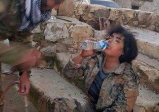 ÖSO'dan Afrin'de insanlık dersi