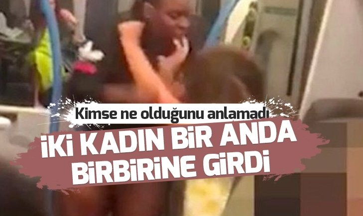 TRENDE KADINLARIN KAVGASI HERKESİ ŞAŞIRTTI