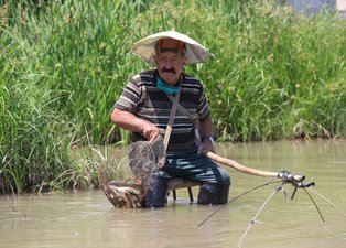 Bu yöntemle profesyonellere taş çıkarttı: 10-15 kilo balık tutuyorum