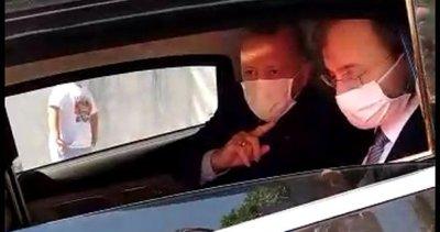 Son dakika: Başkan Erdoğan'ı Tayyip Dede diye seslenerek durdurdular! Çocuklara sürpriz hediye