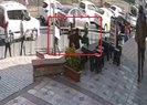 Karaköyde saldırıya uğrayan başörtülü kızlar esnafa sığındı |Video