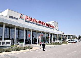 Isparta Şehir Hastanesinde yok yok