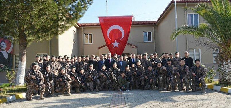 ÖZEL HAREKAT POLİSLERİ SURİYE'YE UĞURLANDI