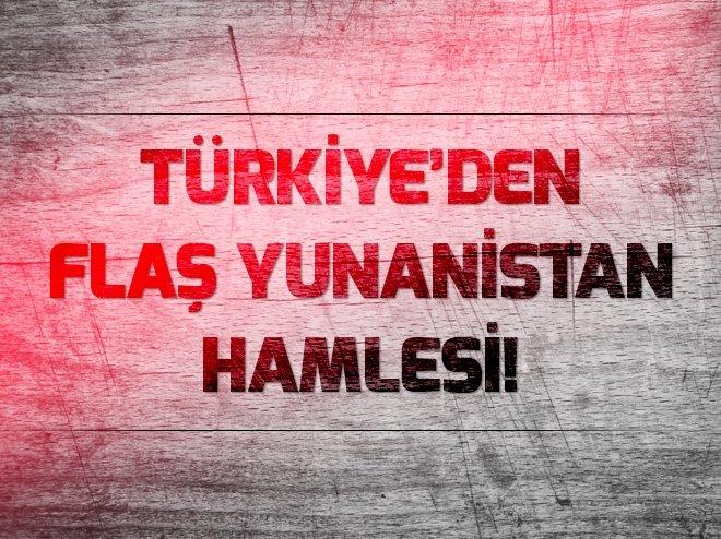 Türkiye'den Yunanistan'a bir tepki daha!
