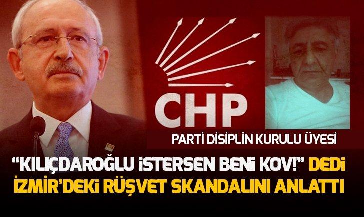 CHP'Lİ İSİMDEN PARTİSİNE RÜŞVET SUÇLAMASI!