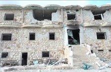 İşte YPG/PKK'nın Afrin'deki sözde asayiş binası! İçinden bakın neler çıktı…