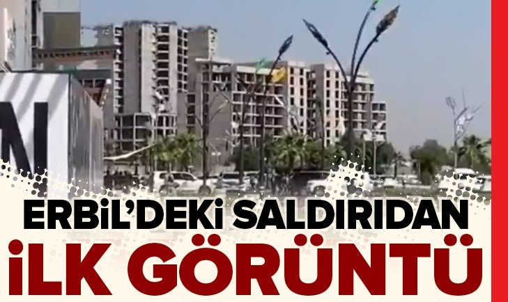 ERBİL'DE TÜRK DİPLOMATLARA SİLAHLI SALDIRI! İŞTE İLK GÖRÜNTÜLER
