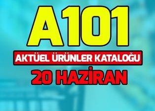 A101 aktüel ürünler kataloğu 20 Haziran ile yok yok! A101 indirimli ürünler neler?