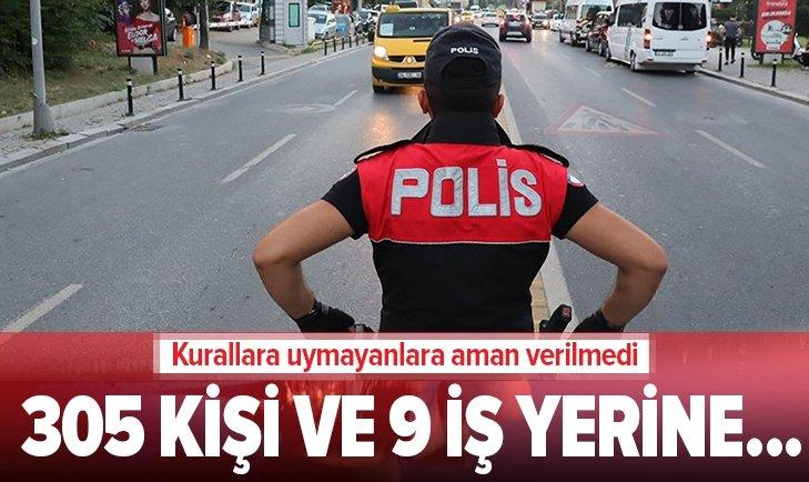 İSTANBUL'DA 9 İŞ YERİ MÜHÜRLENDİ