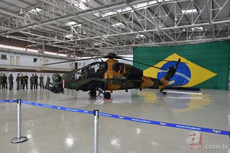 BREZİLYA'DA T129 ATAK HELİKOPTERİ KENDİNİ GÖSTERDİ
