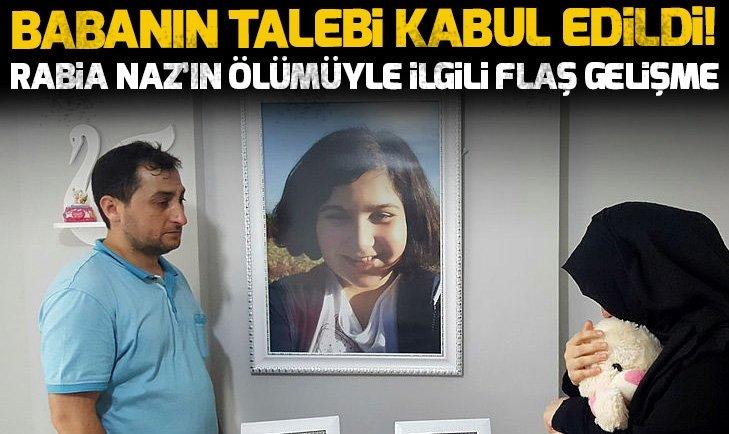 Rabia Naz Vatan'ın ölümüyle ilgili soruşturma başlatıldı