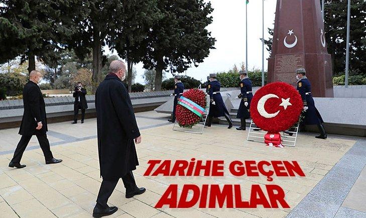 Zafer Günü'nün Onur Konuğu Başkan Erdoğan Bakü'de