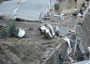 Artvin'de sel felaketi! Yusufeli Barajı havadan böyle görüntülendi